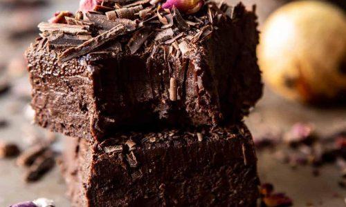 Paleo Avocado Chocolate Fudgy Brownies